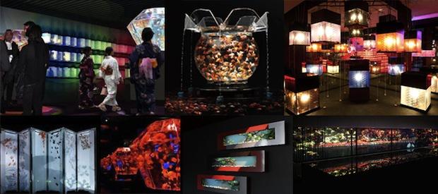 art aquarium tokyo exhibition