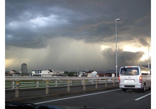 japan guerilla rain summer
