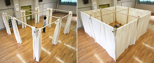 shigeru ban japan evacuation shelter paper