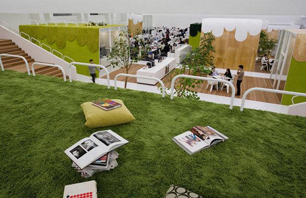 tbwa hakuhodo office tokyo dytham klein advertising agency office advertising agency