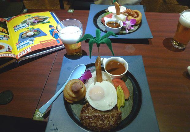 thunderbirds cafe tokyo