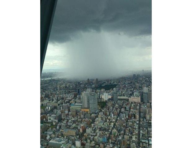 tokyo guerilla rain sky tree
