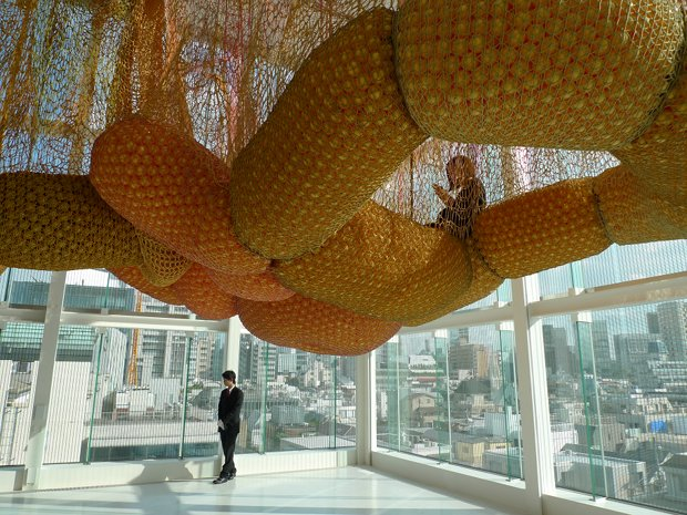 ernesto neto madness is part of life louis vuitton espace tokyo