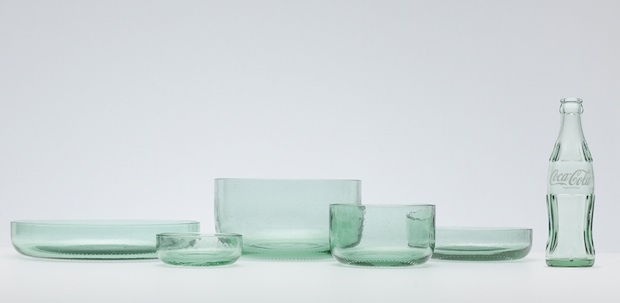 nendo bottleware coca cola design bottle recycle