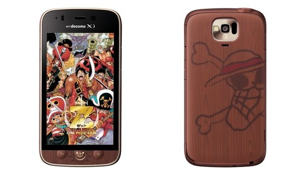one piece smartphone android ntt docomo