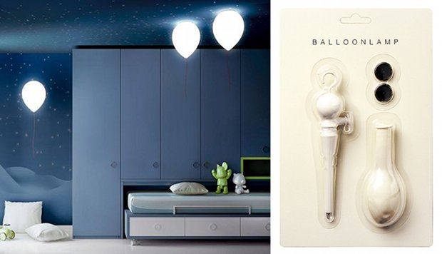balloon lamp designer floating led light