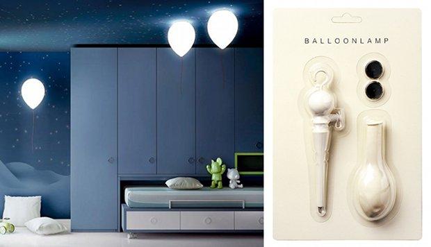 balloon lamp designer floating led light