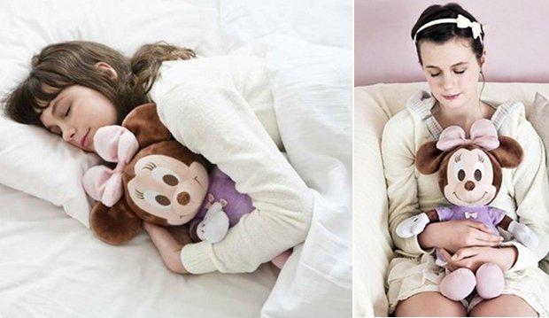 hug and dream sleep therapy robot minnie mouse