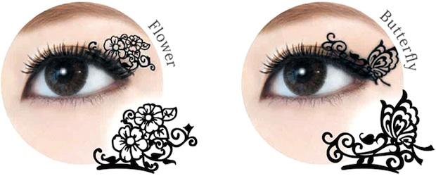 paper eyelash art matsuge japan
