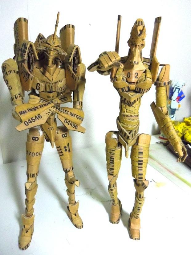 evangelion papercraft cardboard model