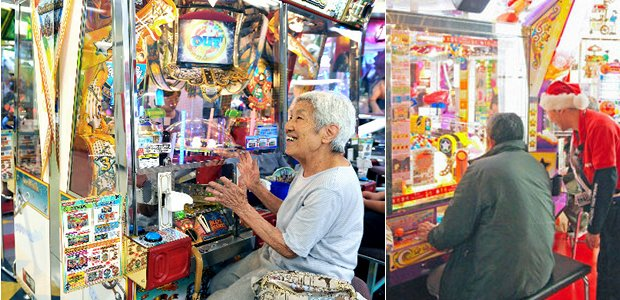 japan game center video arcade senior older generation