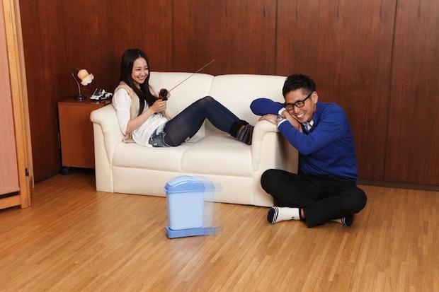 rc gomiba go trash can garbage box remote control toy