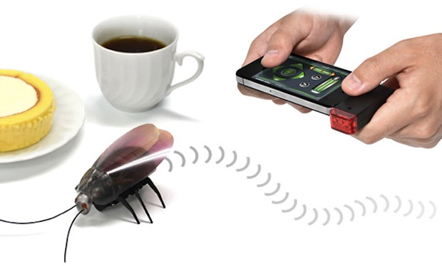 remote control rc cockroach iphone ipad