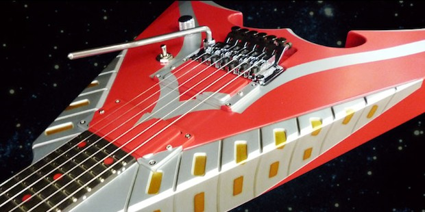 ultraman flying seven guitar