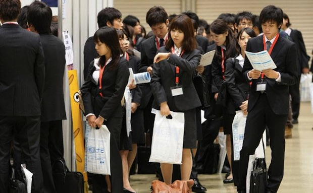 japan job hunting new graduates recruitment