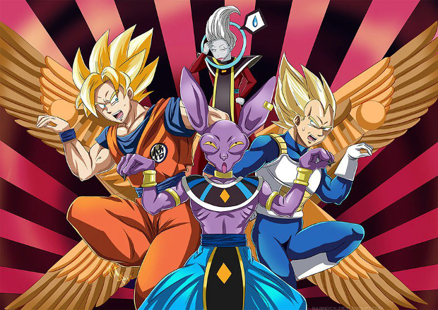 Dragonball battle of gods