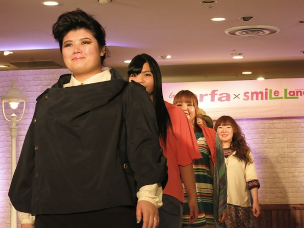 japan la farfa pocchari large size girl fashion show