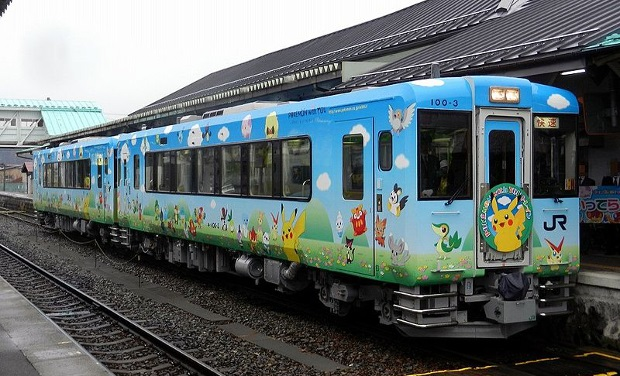 pokemon with you tohoku train