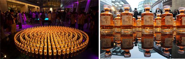 roppongi-art-night-hibiki-bottles