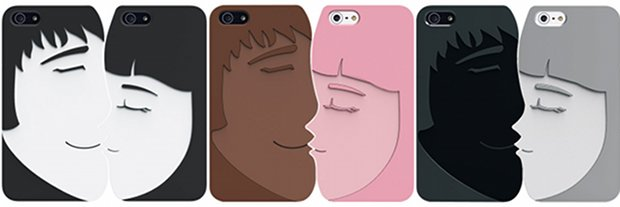 ozaki o coat lover + iphone 5 couple kissing case cover