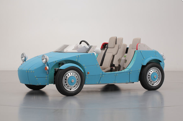 toyota camatte 57s tokyo toy show concept car kids