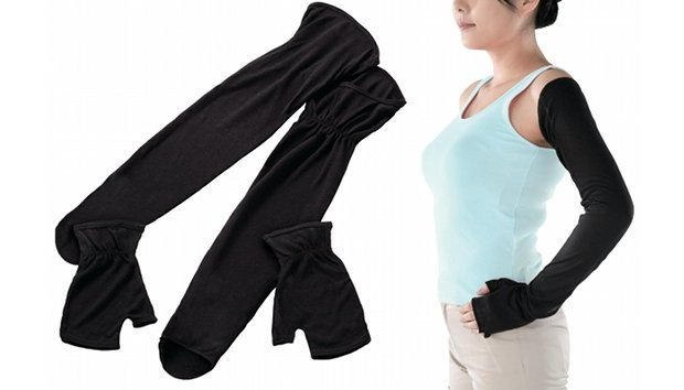 japan arm cover women fashion summer sun