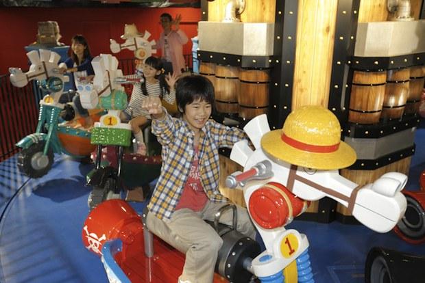 one piece naruto dragon ball j-world tokyo shonen jump theme park