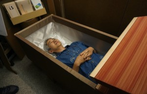 Death Is A New Normal Try It Yourself Coffin Experiences