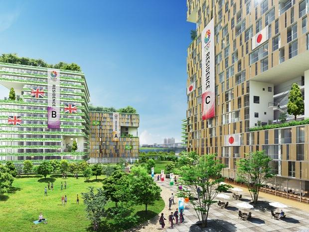 tokyo 2020 olympics village