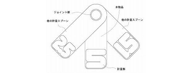 number measuring spoon set atsuhiro hayashi