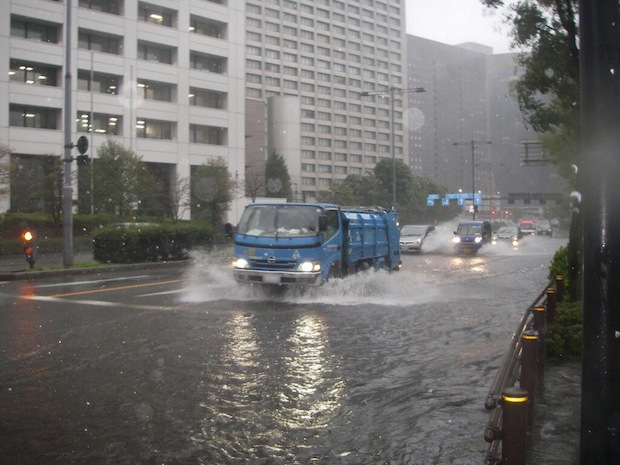 typhoon wipha hit tokyo big storm ten years decade