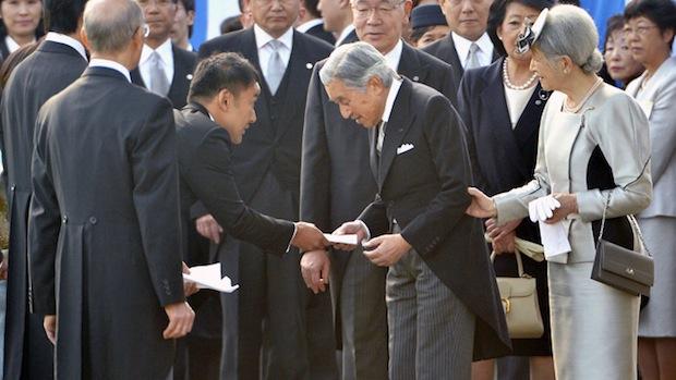 fukushima anti nuclear politician radiation letter taro yamamoto japanese emperor akihito