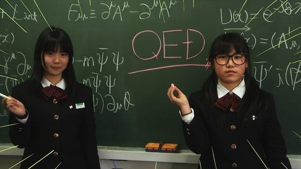 ilc sefuri team lab high school girls musical video japan
