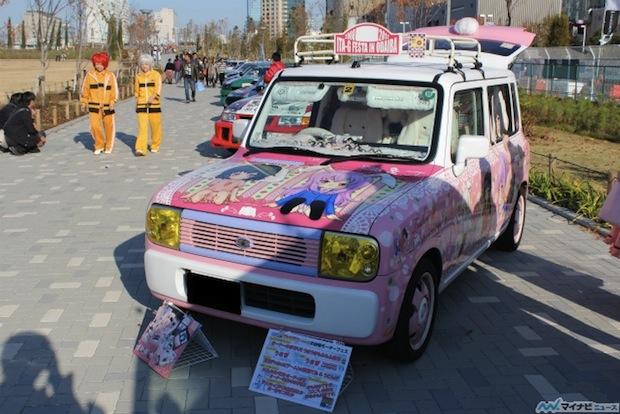 itasha otaku car moe tokyo motor show