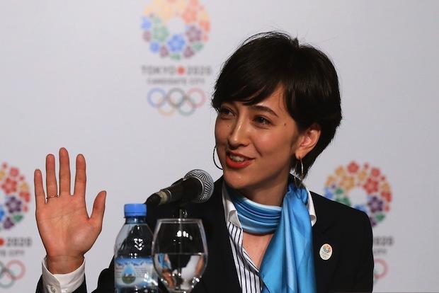 christel takigawa omotenashi olympic presentation buenos aires