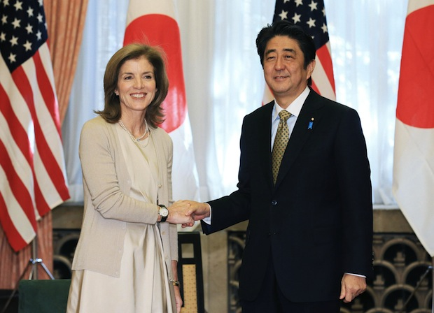 caroline kennedy japan dolphin hunt criticizes