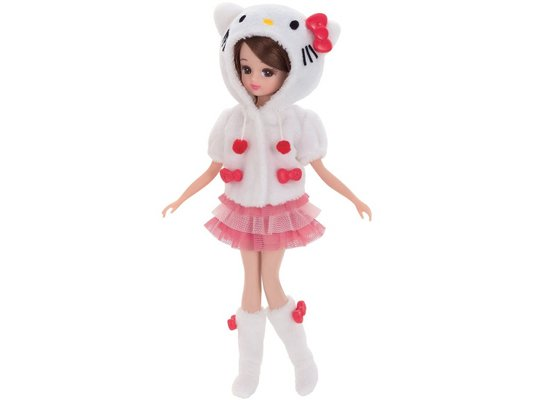 licca-chan daisuki hello kitty doll room wear