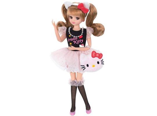 licca-chan daisuki hello kitty doll