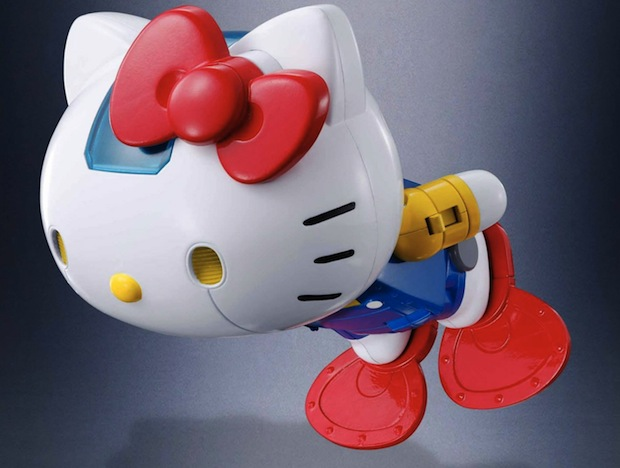 chogokin hello kitty robot model bandai sanrio tamashii nations