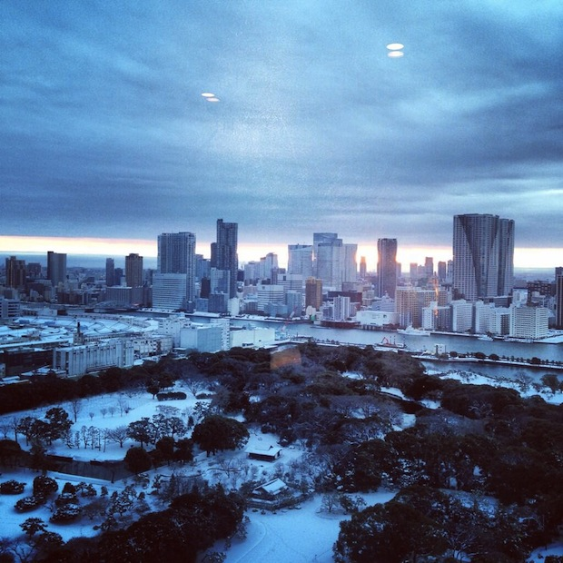 tokyo snow storm 2014 february