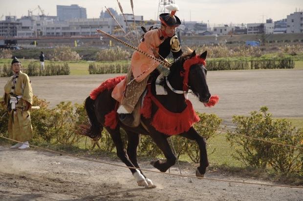 kamakura festival horse riding archery horseback