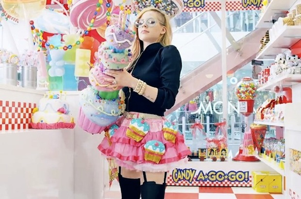 avril lavigne hello kitty music video