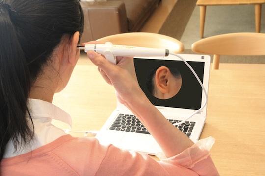coden ear scope windows clean ear pick camera