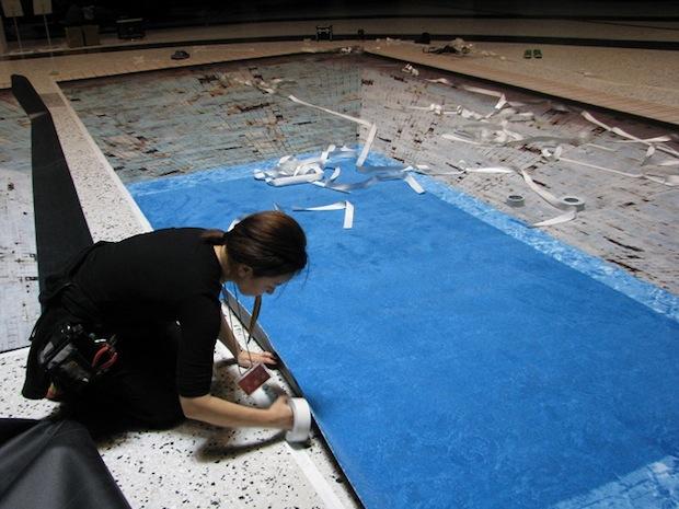 jeroen bisscheroux pool loss of color swimming osaka fukushima