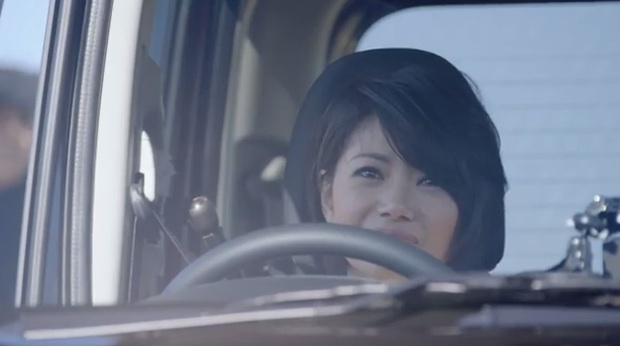 nissan presents happy smile drive in theater