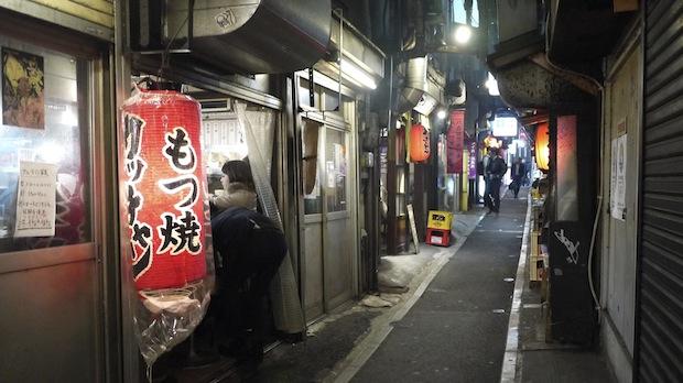 shinjuku omoide yokocho yakitori alley