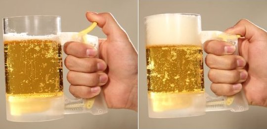 beer jug jooki hour foam maker glass