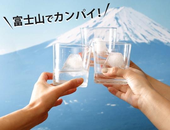 fuji on the rock ice maker mountain
