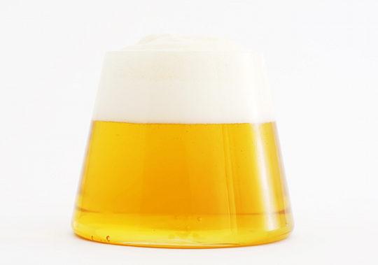 fujiyama glass keita suzuki design mount fuji beer