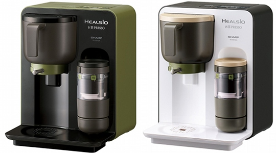 sharp healsio ocha presso tea maker